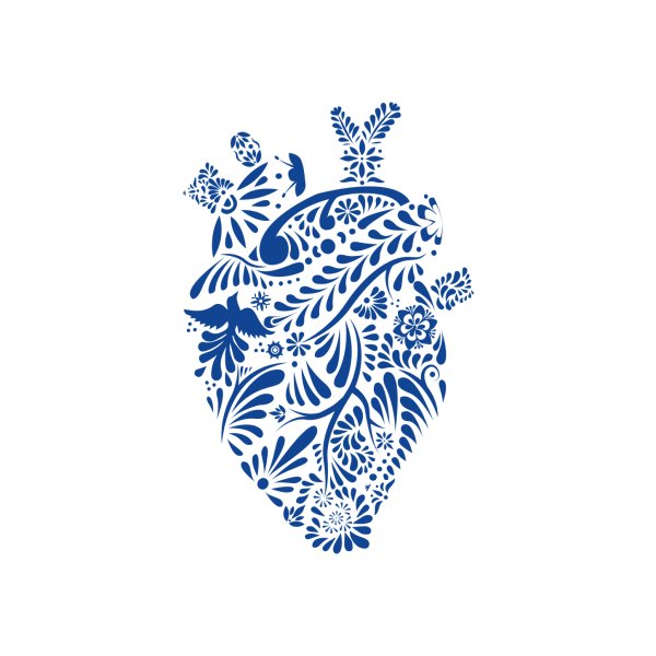 Design for Talavera heart