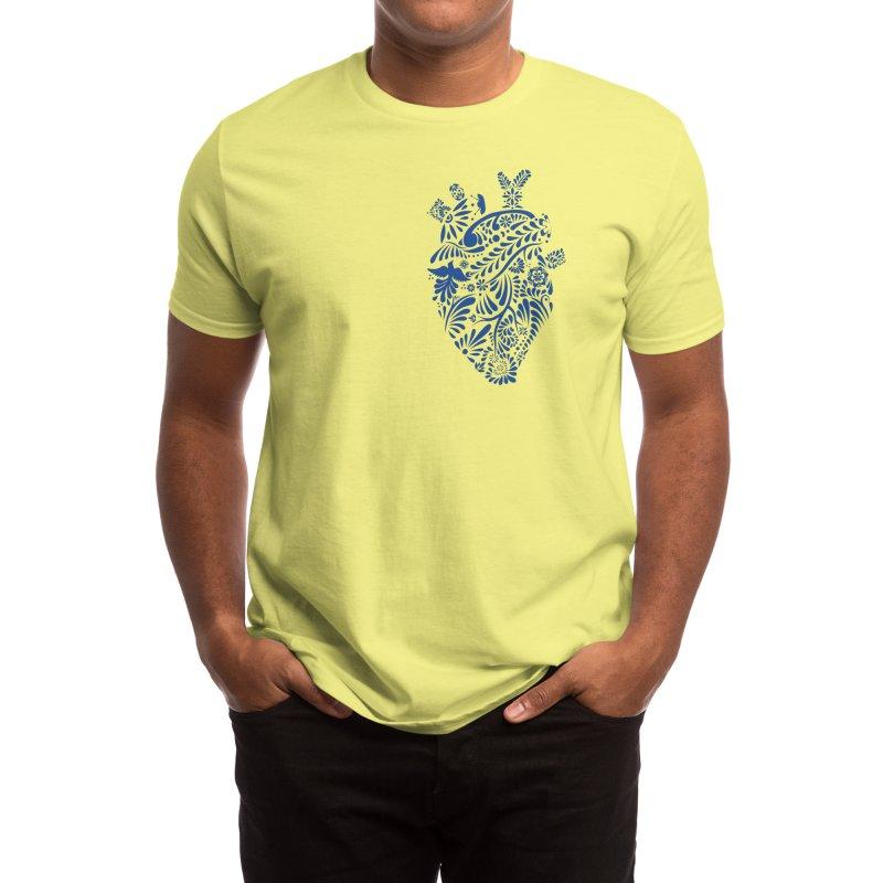 Talavera heart Men's T-Shirt by Mau's Shop
