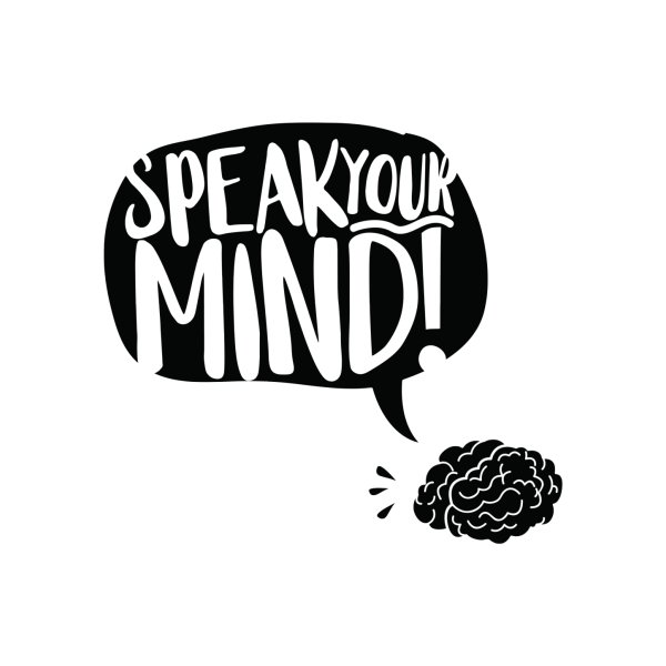 Design for Speak your mind!