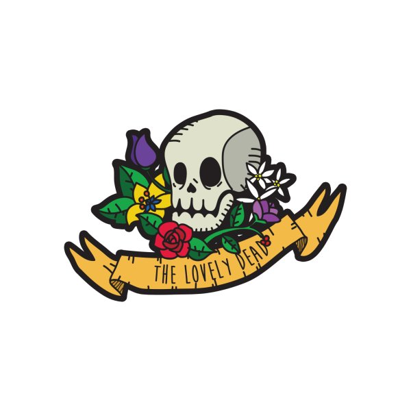 image for Skull and flowers and stuff