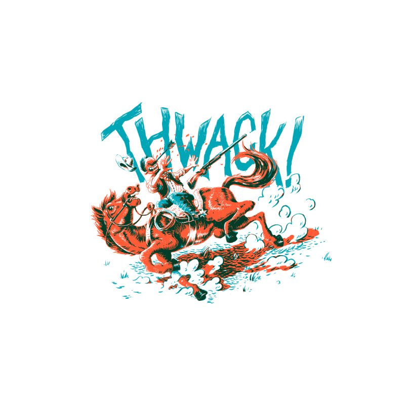 Thwack! Kids T-Shirt by Max Marcil Shop