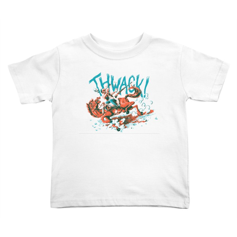 Thwack! Kids Toddler T-Shirt by Max Marcil Design & Illustration Shop