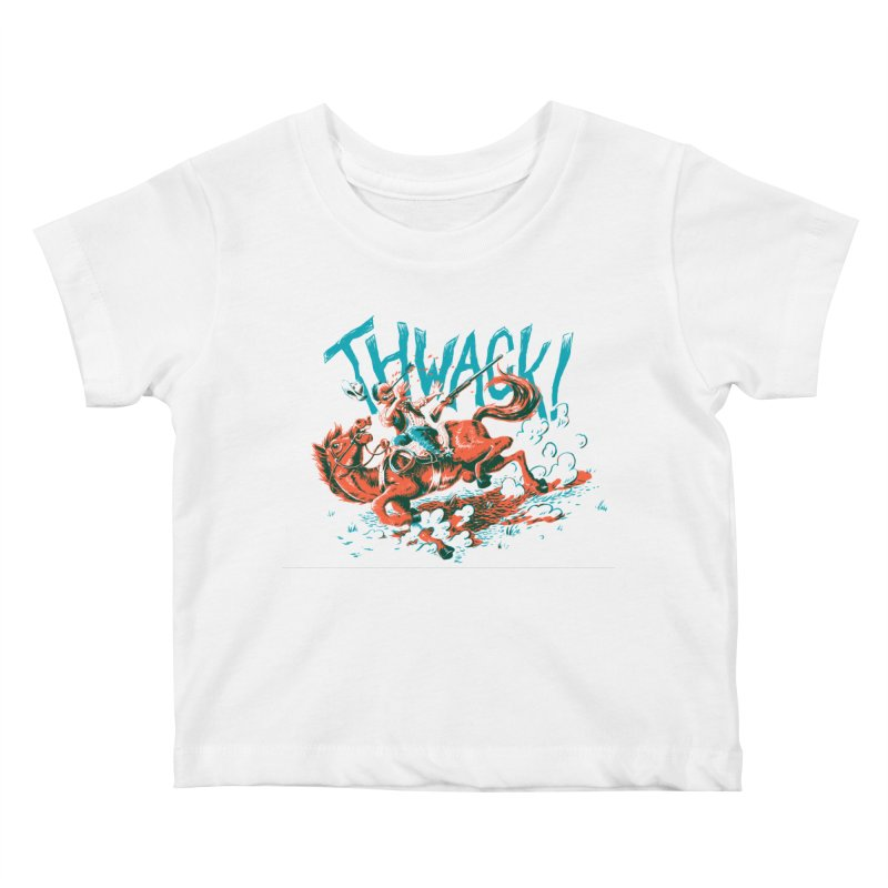 Thwack! Kids Baby T-Shirt by Max Marcil Shop