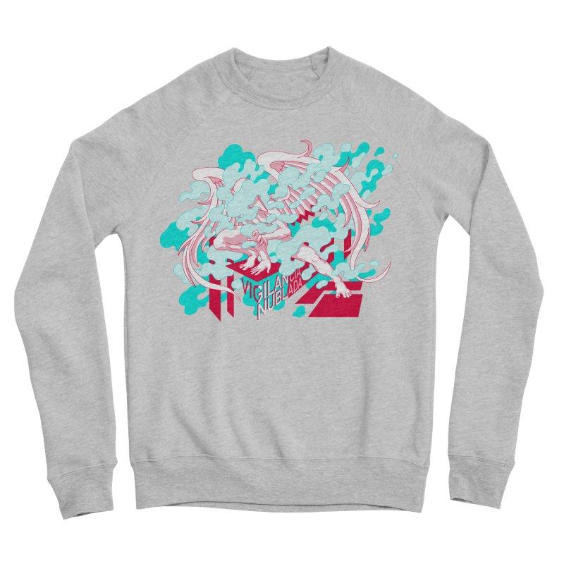 Vigilancia Nublada Men's Sponge Fleece Sweatshirt by Max Marcil Shop