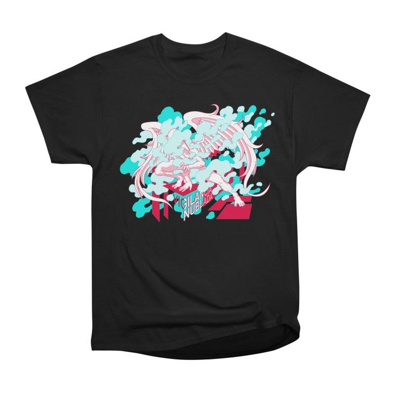 Vigilancia Nublada Women's Heavyweight Unisex T-Shirt by Max Marcil Design & Illustration Shop