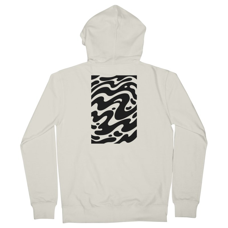 Black Clouds Everyone Zip-Up Hoody by Max Marcil Shop