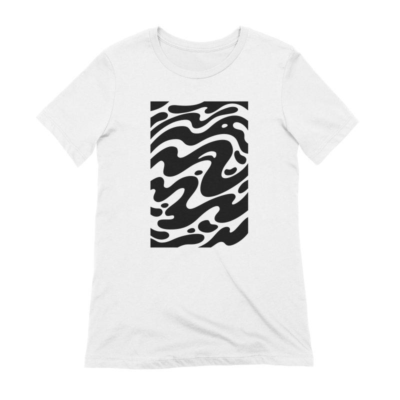 Black Clouds Femme T-Shirt by Max Marcil Shop
