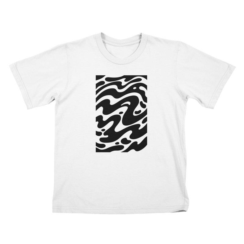 Black Clouds Kids T-Shirt by Max Marcil Design & Illustration Shop