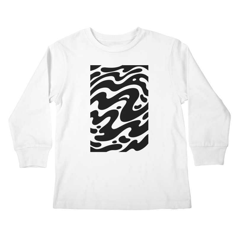 Black Clouds Kids Longsleeve T-Shirt by Max Marcil Shop