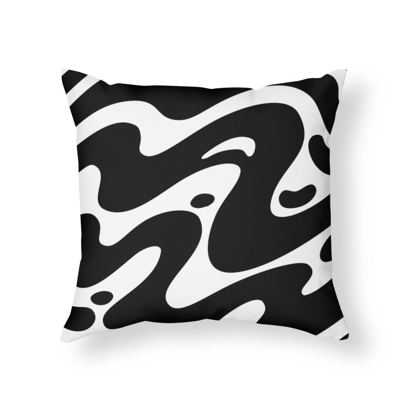 Black Clouds Home Throw Pillow by Max Marcil Shop