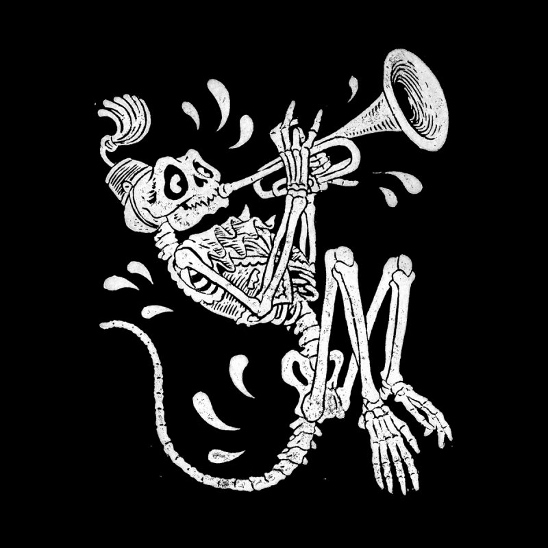 Trumpet Monkey Everyone T-Shirt by Max Marcil Shop