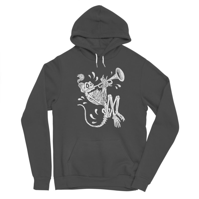 Trumpet Monkey Femme Pullover Hoody by Max Marcil Shop