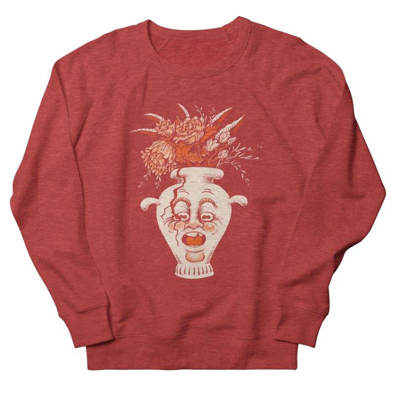 Broke Men's French Terry Sweatshirt by Max Marcil Shop