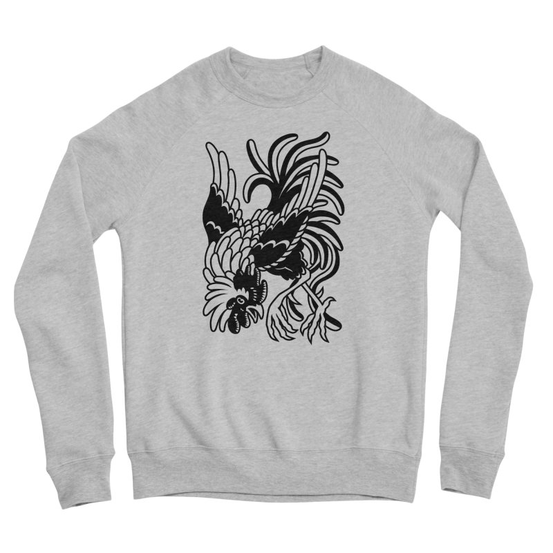 Dancing Rooster Men's Sweatshirt by Max Marcil Shop