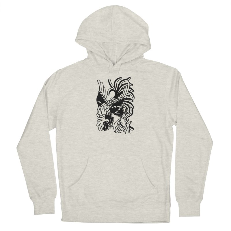 Dancing Rooster Men's Pullover Hoody by Max Marcil Shop
