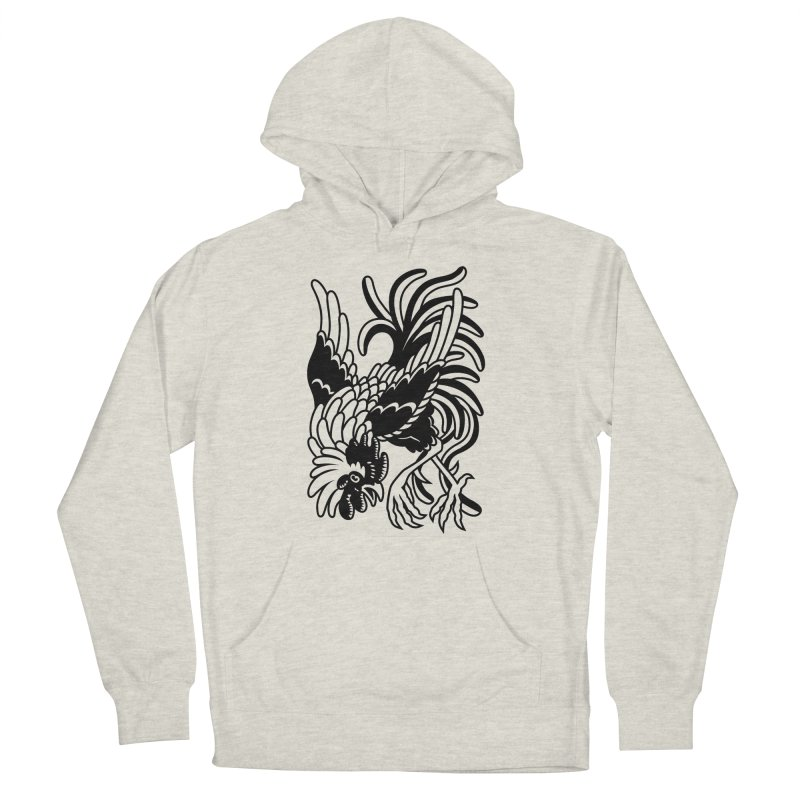Dancing Rooster Women's French Terry Pullover Hoody by Max Marcil Shop