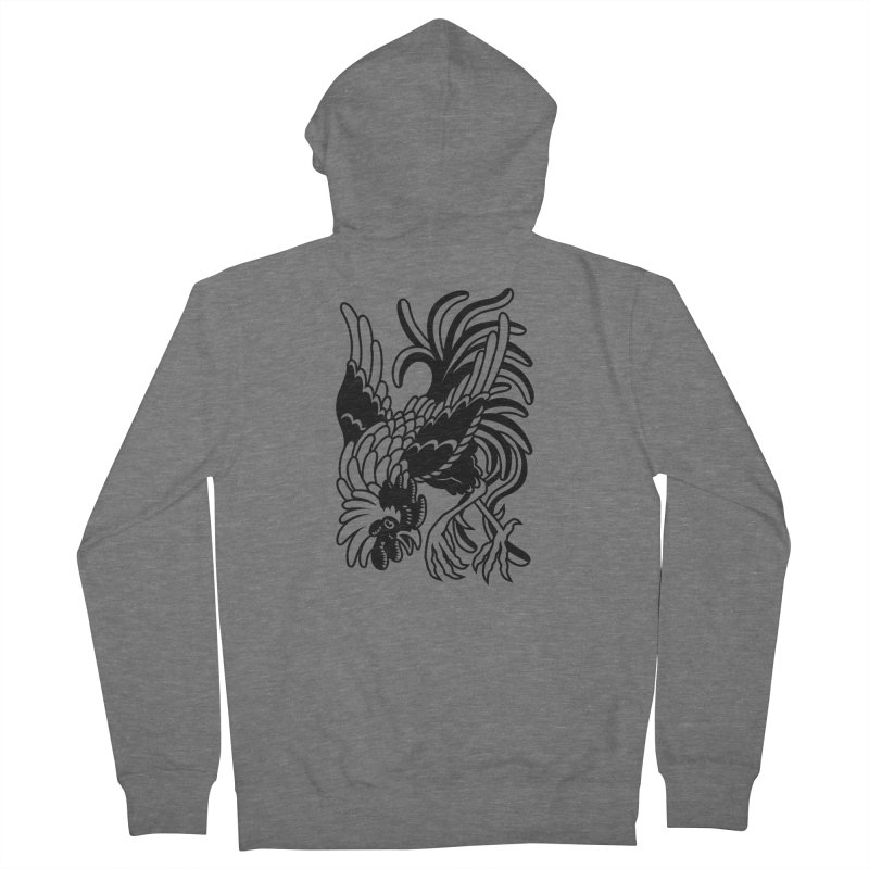Dancing Rooster Women's Zip-Up Hoody by Max Marcil Shop