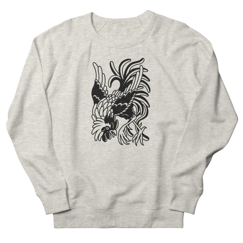 Dancing Rooster Femme Sweatshirt by Max Marcil Shop