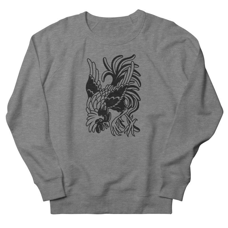 Dancing Rooster Men's Sweatshirt by Max Marcil Shop