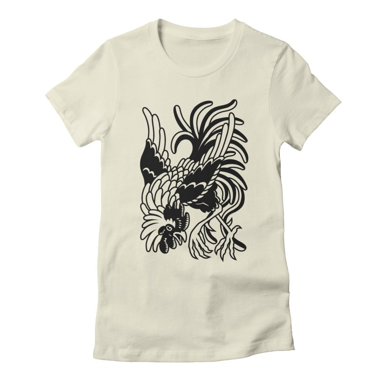 Dancing Rooster Women's T-Shirt by Max Marcil Shop