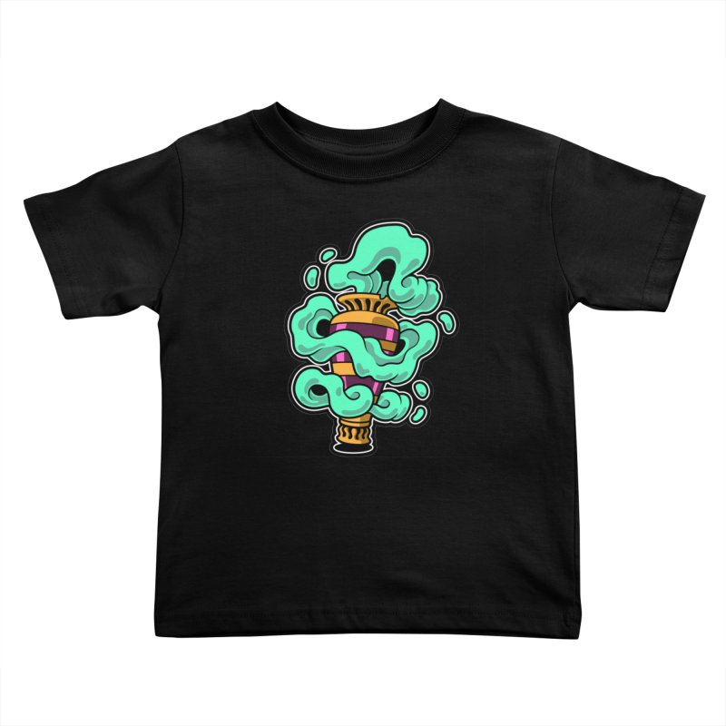 Ghost Vase Kids Toddler T-Shirt by Max Marcil Shop