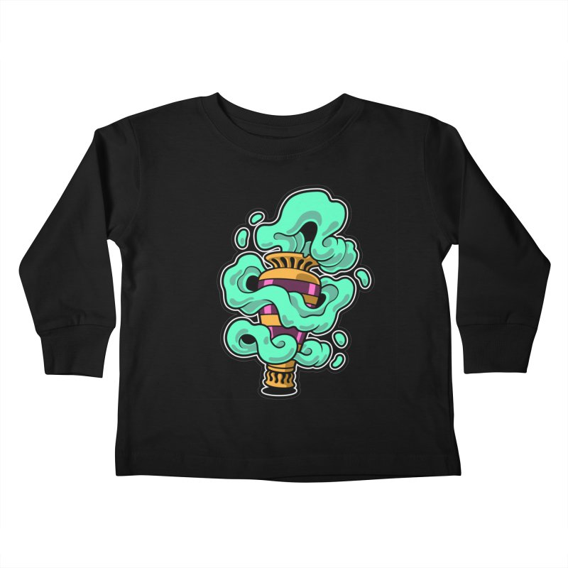 Ghost Vase Kids Toddler Longsleeve T-Shirt by Max Marcil Shop