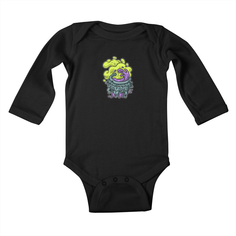 Tipping Cauldron Kids Baby Longsleeve Bodysuit by Max Marcil Shop