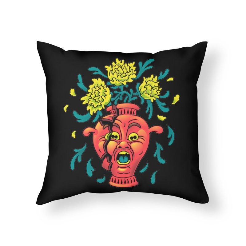 Broke III Home Throw Pillow by Max Marcil Shop