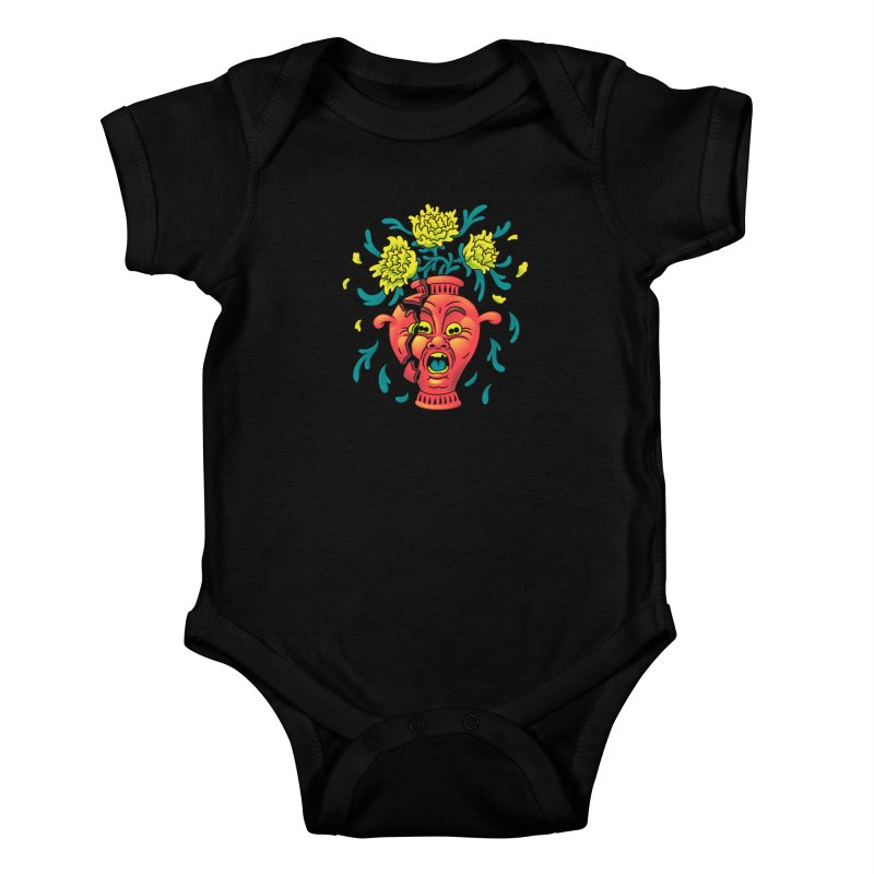 Broke III Kids Baby Bodysuit by Max Marcil Shop