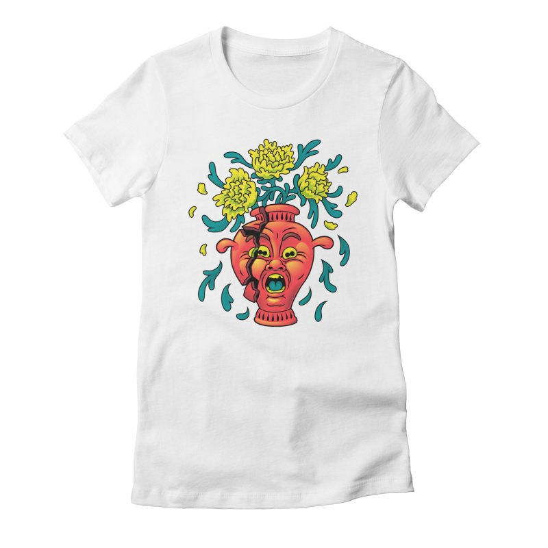 Broke III Women's Fitted T-Shirt by Max Marcil Shop