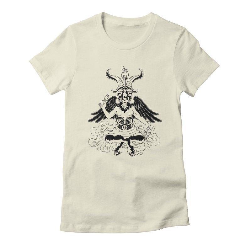 Baphomet (black) Femme T-Shirt by Max Marcil Shop