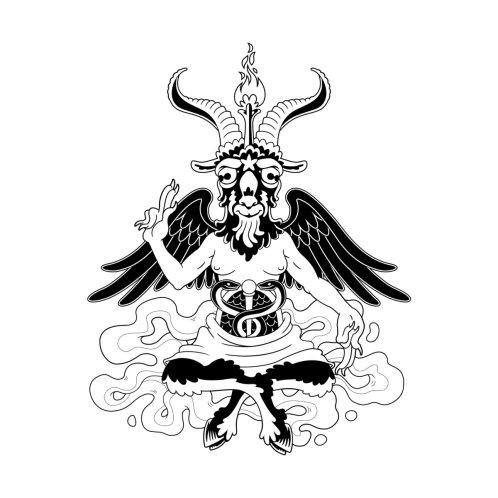 Design for Baphomet (black)