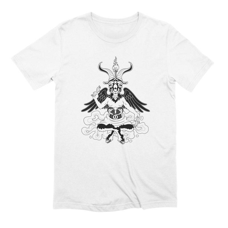 Baphomet (black) Everyone T-Shirt by Max Marcil Shop