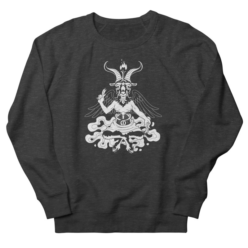 Baphomet (white) Everyone Sweatshirt by Max Marcil Shop