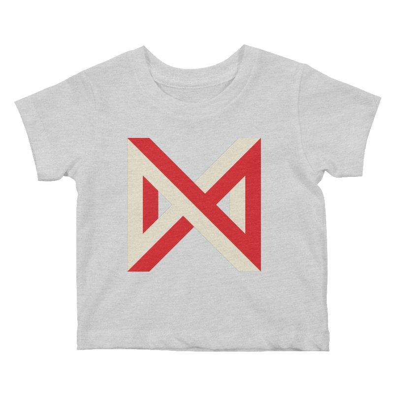 Max Marcil Logo Kids Baby T-Shirt by Max Marcil Design & Illustration Shop
