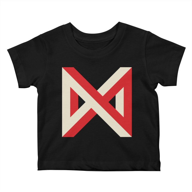 Max Marcil Logo Kids Baby T-Shirt by Max Marcil Shop