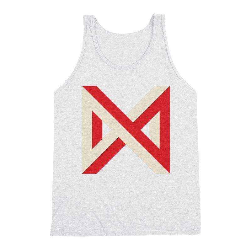 Max Marcil Logo Men's Triblend Tank by Max Marcil Shop