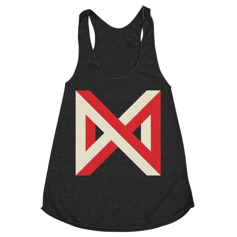 Max Marcil Logo Women's Racerback Triblend Tank by Max Marcil Shop