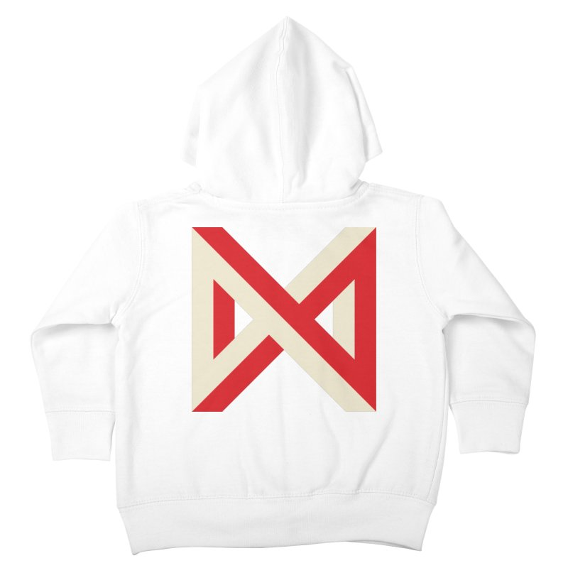 Max Marcil Logo Kids Toddler Zip-Up Hoody by Max Marcil Design & Illustration Shop