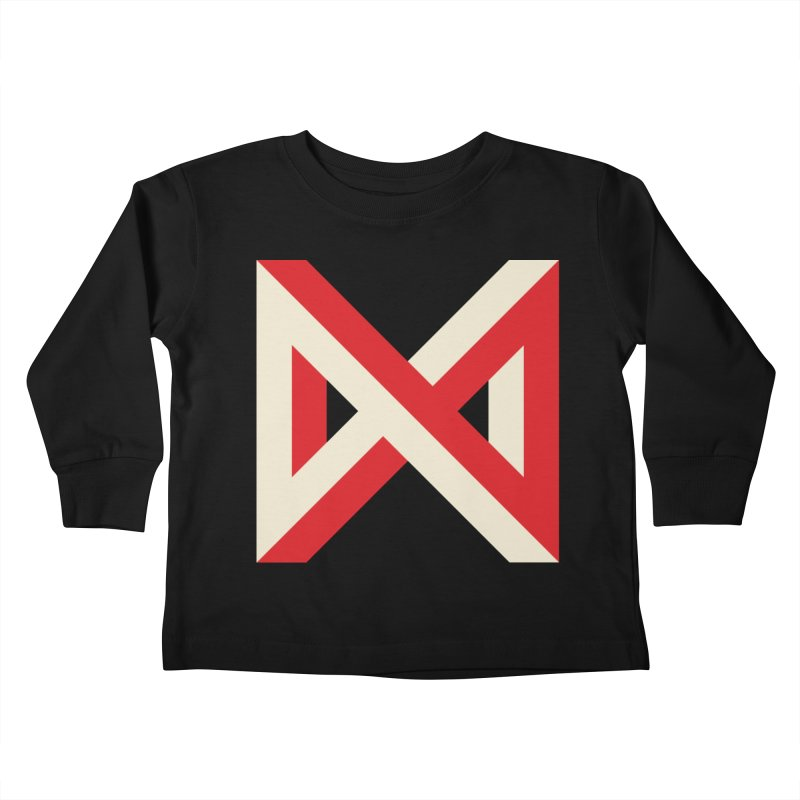 Max Marcil Logo Kids Toddler Longsleeve T-Shirt by Max Marcil Design & Illustration Shop
