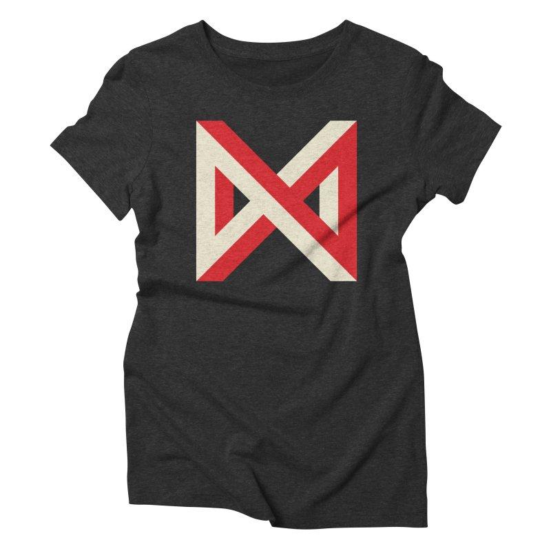 Max Marcil Logo Women's Triblend T-Shirt by Max Marcil Shop