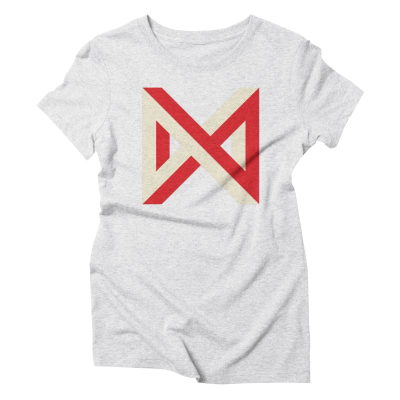 Max Marcil Logo Women's Triblend T-Shirt by Max Marcil Design & Illustration Shop