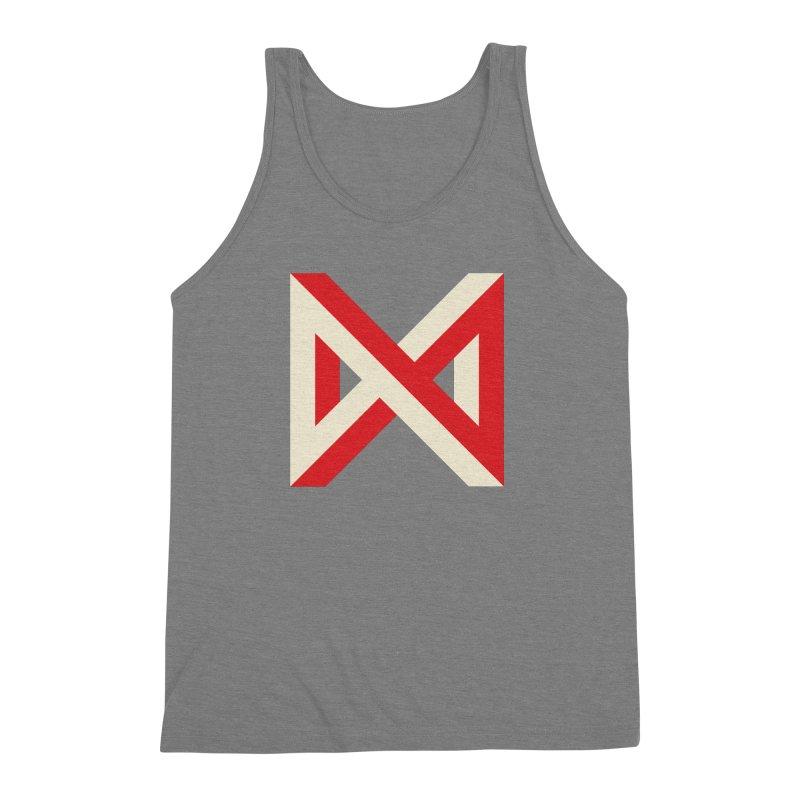 Max Marcil Logo Men's Triblend Tank by Max Marcil Design & Illustration Shop