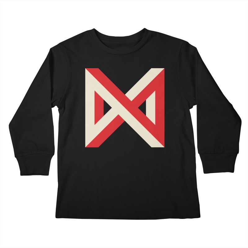 Max Marcil Logo Kids Longsleeve T-Shirt by Max Marcil Design & Illustration Shop