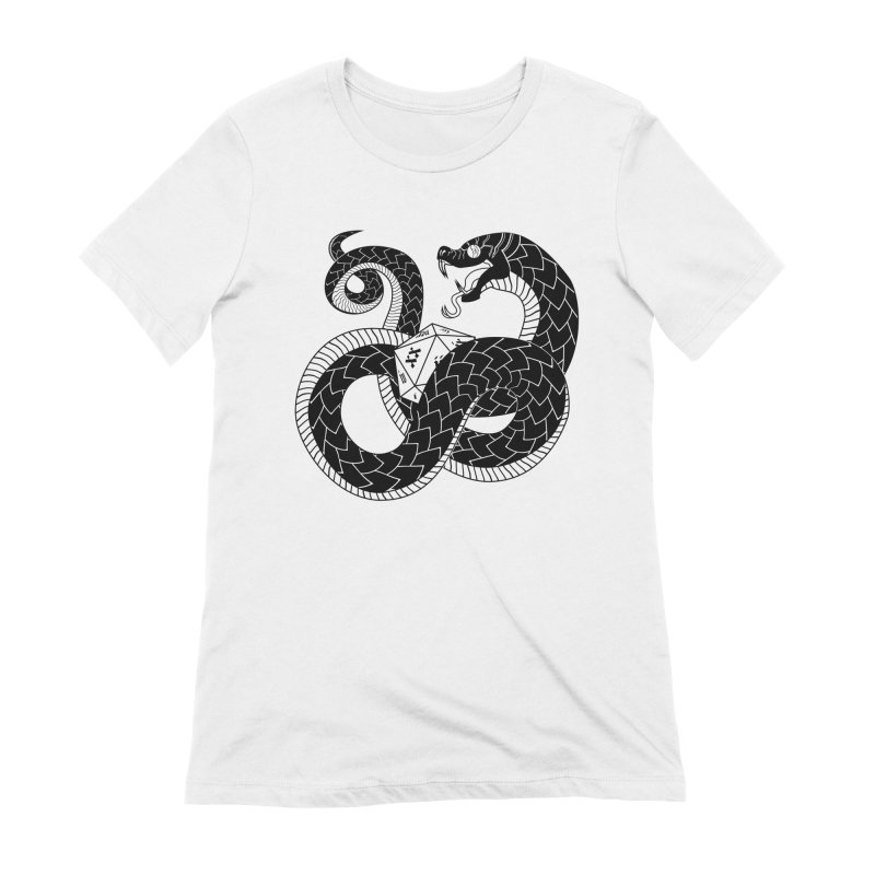 D20 Serpent Women's T-Shirt by Max Marcil Shop