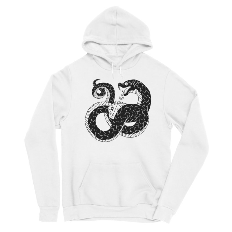 D20 Serpent Everyone Pullover Hoody by Max Marcil Shop