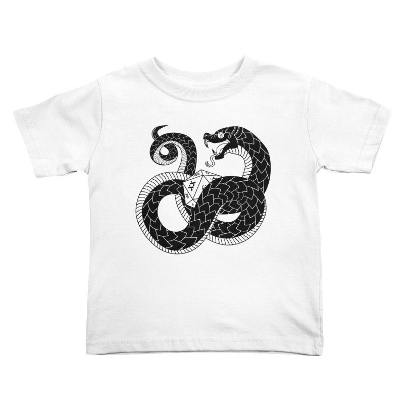 D20 Serpent Kids Toddler T-Shirt by Max Marcil Design & Illustration Shop