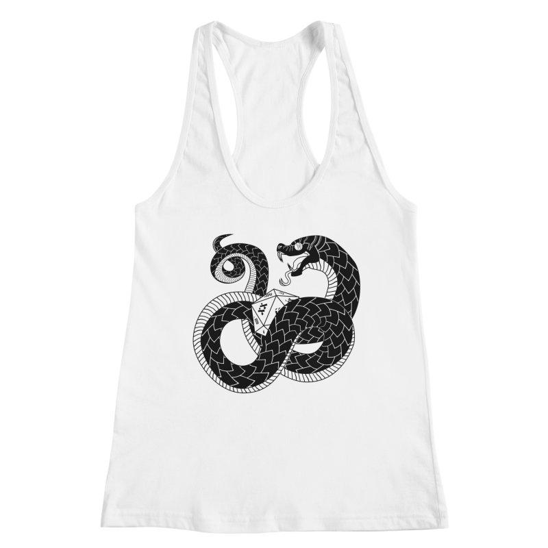 D20 Serpent Women's Tank by Max Marcil Shop