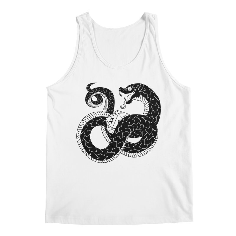 D20 Serpent Men's Regular Tank by Max Marcil Shop