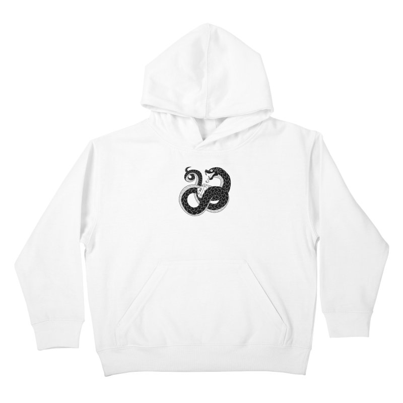 D20 Serpent Kids Pullover Hoody by Max Marcil Shop